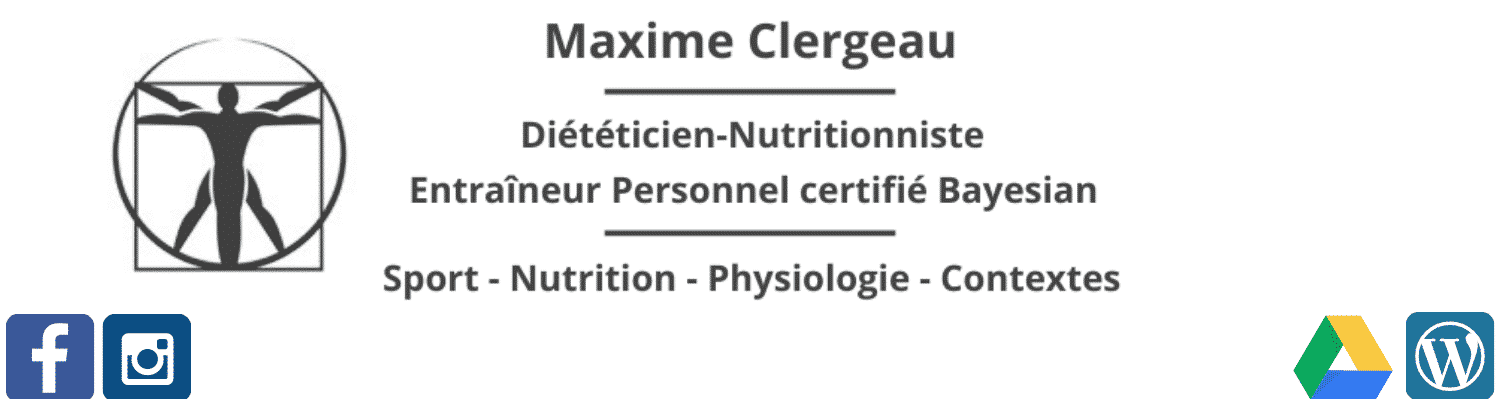 Maxime Clergeau | Nutrition, Musculation, Coaching personnel